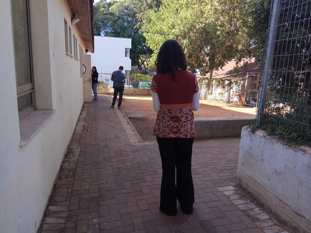 סדנת מורים חוקרים את החצר