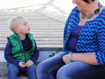 A Boy, His Momma & a Train - 2013 Photo Shoot