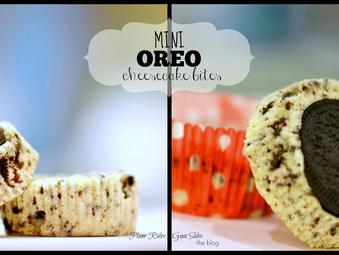 Mini Oreo Cheesecake Bites {Recipe Post}