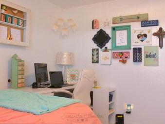 I have an office. And it's girly.