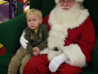 The Time We Went to Meet Santa and I Ended Up In My Bra