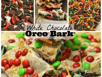 White Chocolate Oreo Bark {Recipe Post}