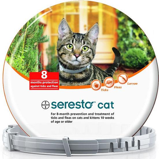 סרסטו- קולר נגד פרעושים וקרציות לחתולים