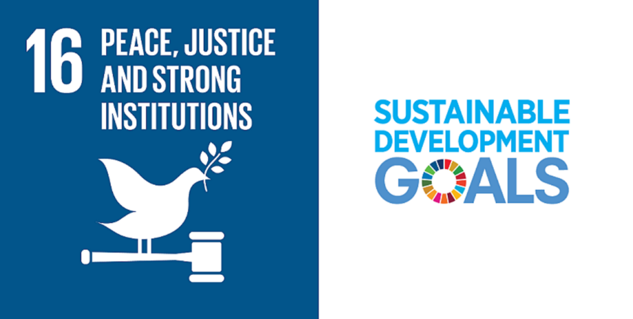SDG 16: One of the foundations on which the other Goals rest.