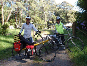 Cycling to Ben Ricketts