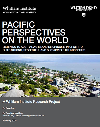 Pacific Perspectives report cover