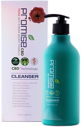 PROMISE CBD CLEANSING SHAMPOO