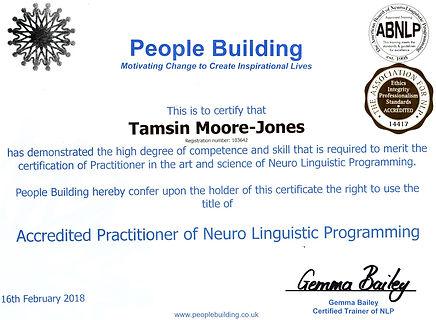 My People Building Practitioner Certificate