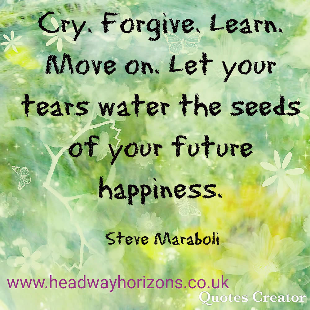 Let's use our old pain and learning to nourish our future.....
