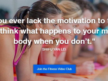 New website, new club, new you!
