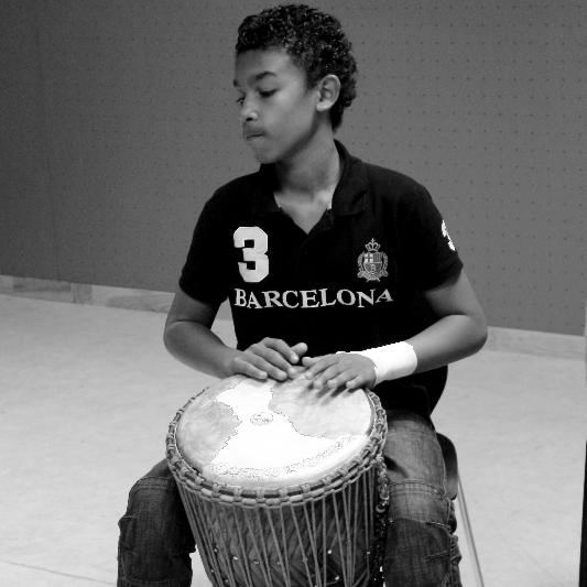 Elève percussionniste