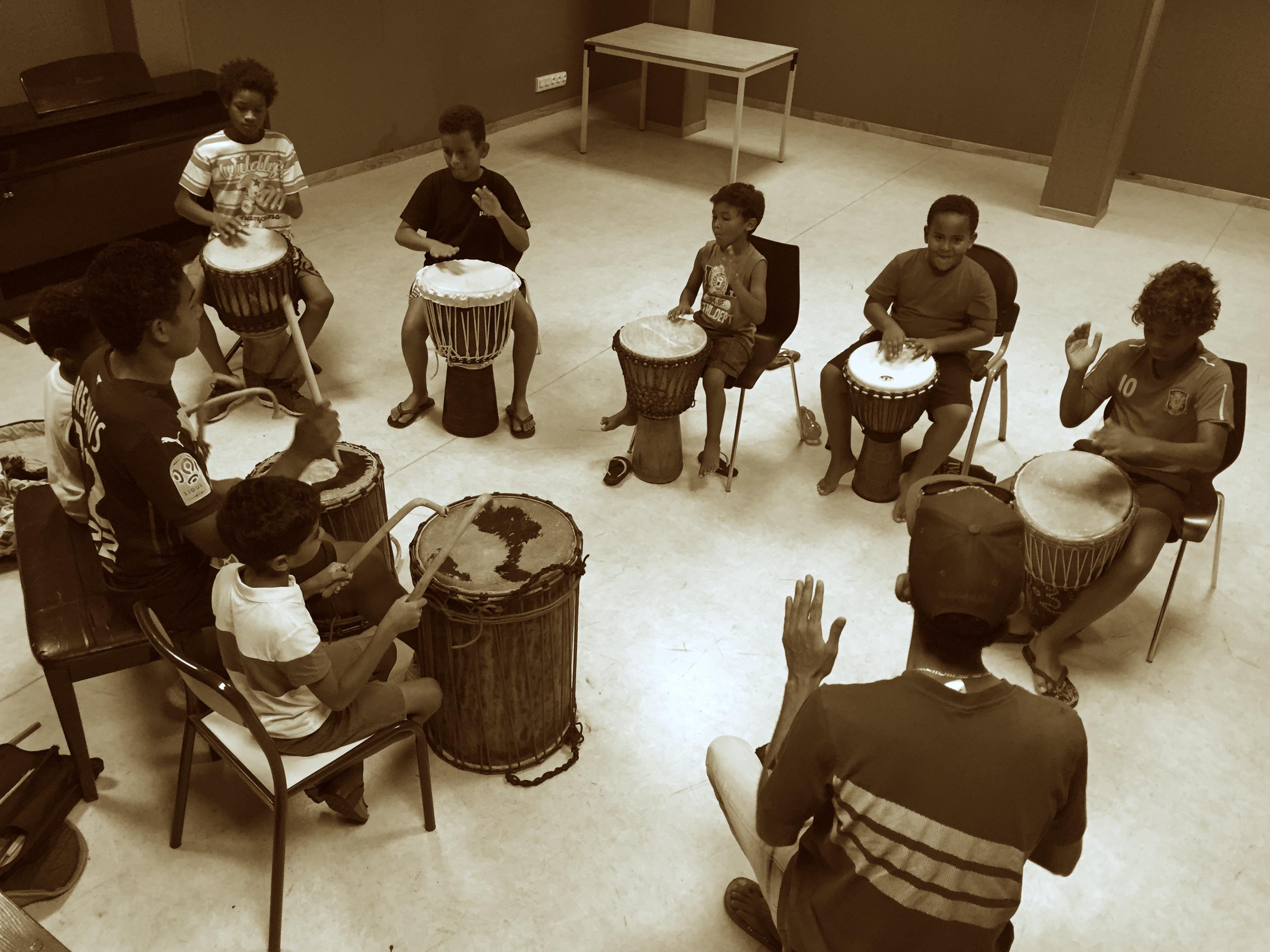 Cours de percussion