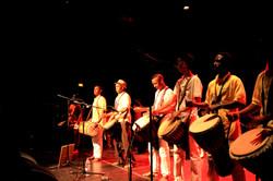 Les élèves percussionniste
