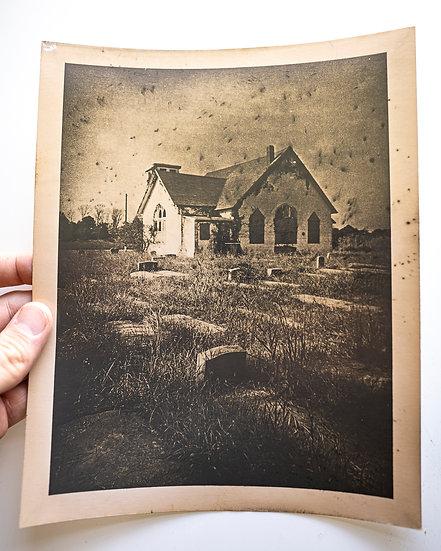 Abandoned Church & Cemetery