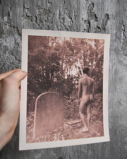 Cemetery Nude