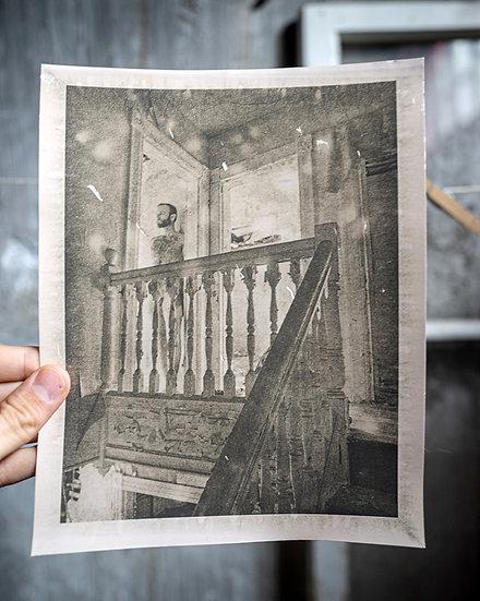 Framed Stairway