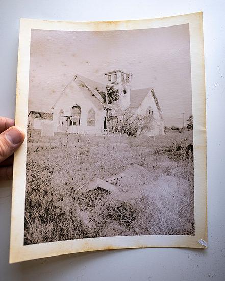 Abandoned Church & Cemetery II