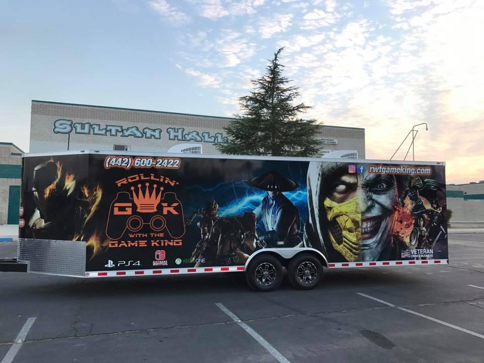 game truck school event