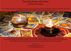 Claire tarot Poster
