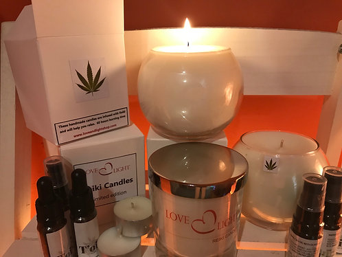 CBD Reiki Candle 37CL (Fishbowl)