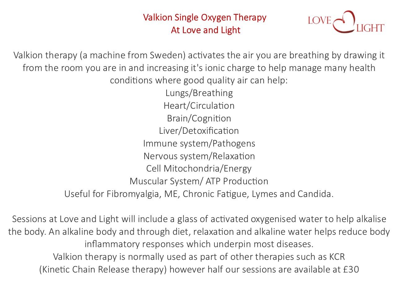 mark valk oxygen therapy