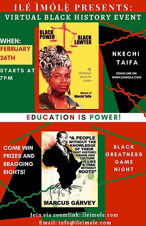 Ile Imole Presents_ Black History Event