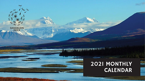 2021 Calendar - Desk Tent-style