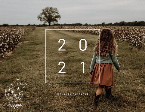 2021 Calendar - Wall Style