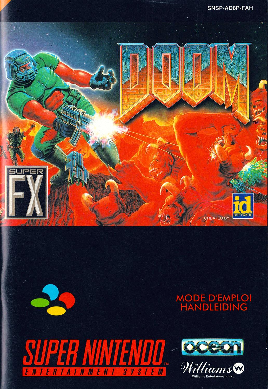 SNES--Livret---Doom---FR