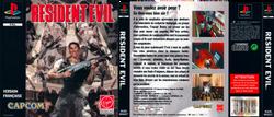 PSONE--Jaquette---Resident-evil---FR