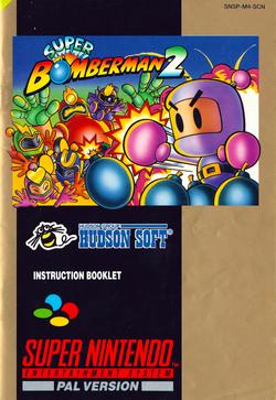 SNES--Livret---Super-Bomberman-2---FR