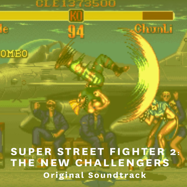 SUPER STREET FIGHTER 2 : THE NEW CHALLENGERS