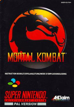 SNES--Livret---Mortal-Kombat-1---FR