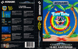 MEGADRIVE--Jaquette---Tiny-Toon-Busters-