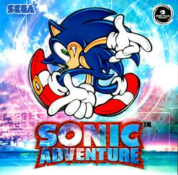 DREAMCAST--Livret---Sonic-Adventure---EU
