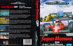 MEGADRIVE--Jaquette---Super-Monaco-GP---