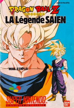 SNES--Livret---Dragon-ball-z-La-legende-