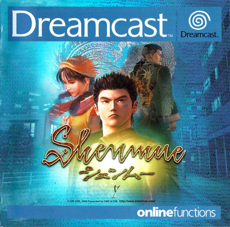 DREAMCAST--Livret---Shenmue---FR