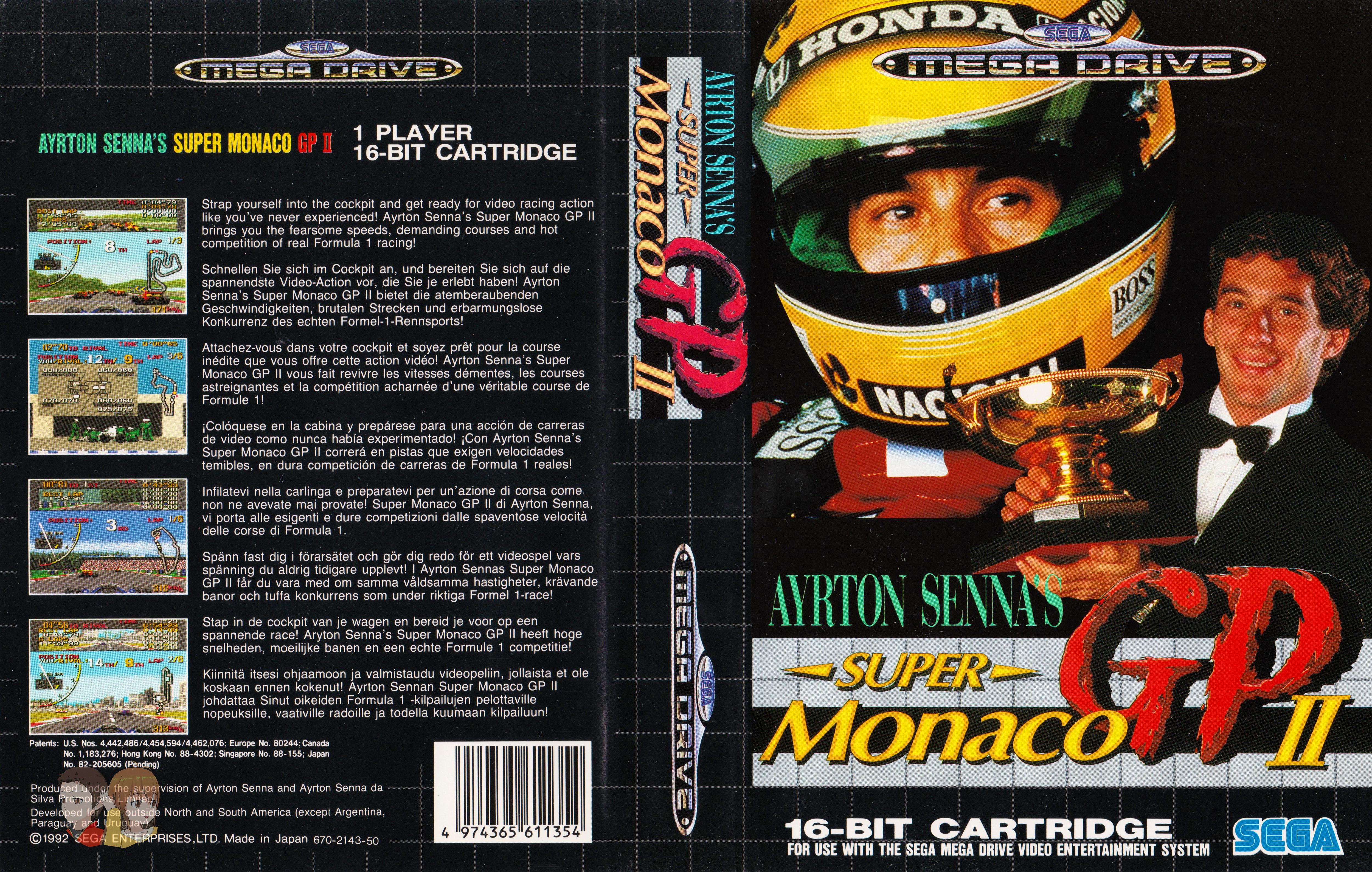 MEGADRIVE--Jaquette---Super-Monaco-GP2--