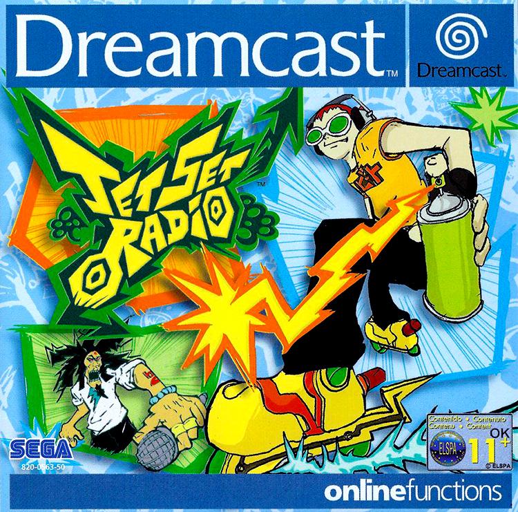 DREAMCAST--Livret---Jet-Set-radio---FR