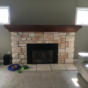 Mantel troy after