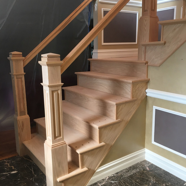 stairs/Trim macomb during