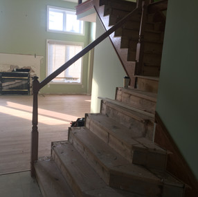 Stairs before shelby