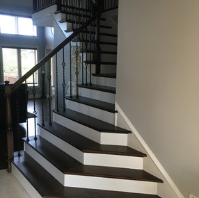 Stairs after shelby
