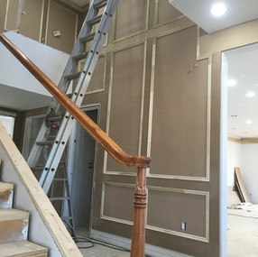 Wall paneling after