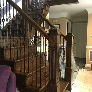 Stairs/Trim Macomb after