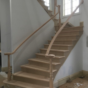 Stairs Oakland before
