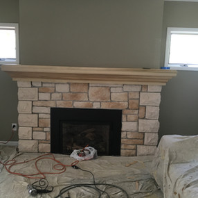 Mantel Troy during