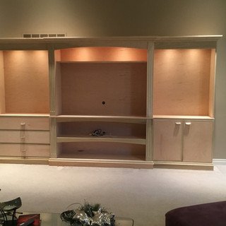 Entertainment center Shelby