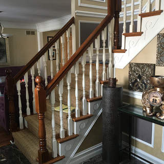 Stairs/Trim Macomb before